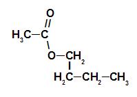 Fórmula estrutural do éster da essência de framboesa