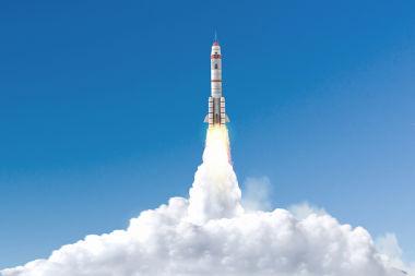 Para sair da Terra, um foguete precisa de uma velocidade de 40.000 km/h