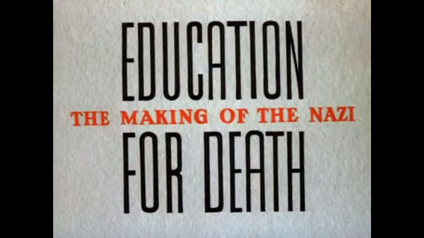 Education for Death: The Making of the Nazi foi um curta lançado pela Disney, em 1943
