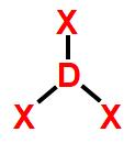 Modelo-padrão de representação de geometria trigonal plana