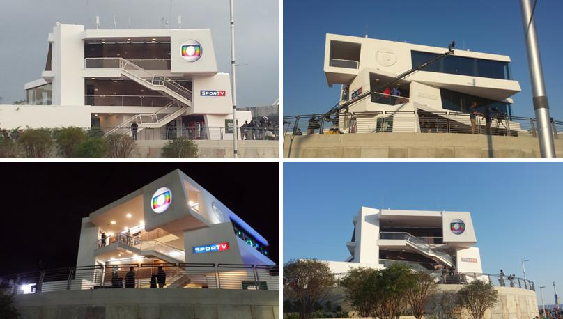 3e48684bf Visão externa do prédio do Grupo Globo no Parque Olímpico (fonte: arquivo  pessoal)