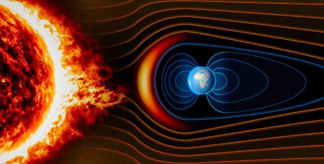 Os ventos solares são constituídos por partículas provenientes da coroa solar e são capazes de afetar as telecomunicações terrestres.