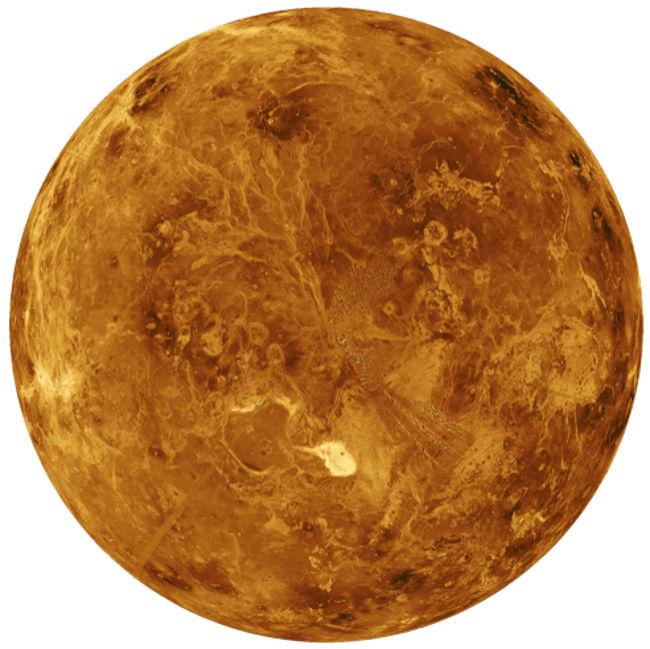 Vênus é o planeta mais quente do Sistema Solar.