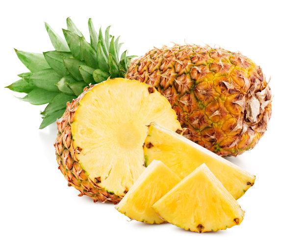 Abacaxi é uma fruta tropical.
