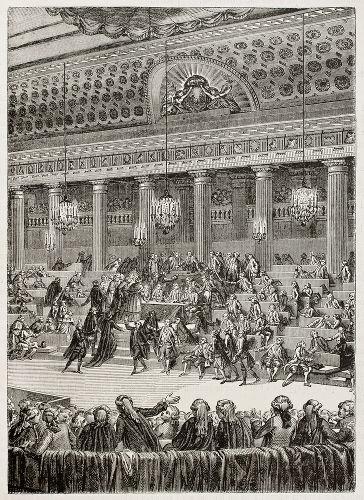 Em 4 de agosto de 1789, os representantes da Assembleia Nacional Constituinte aboliram os privilégios feudais na França.