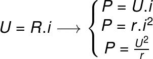 Três maneiras possíveis de se calcular potência elétrica