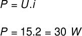 Cálculo da potência elétrica