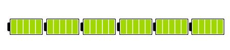A utilização de pilhas em série é uma alternativa caso não haja uma bateria.
