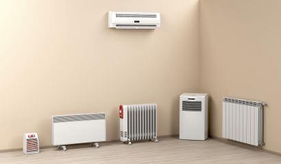 Ar-condicionado e aquecedores