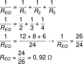 Cálculo da resistência equivalente