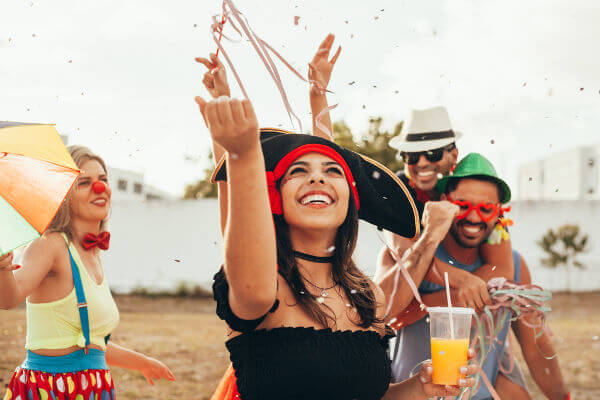Carnaval e hidratação