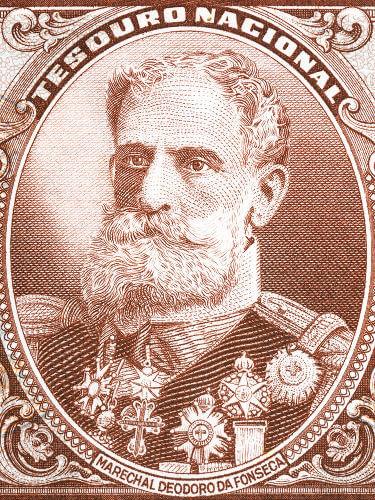 O marechal Deodoro da Fonseca liderou as tropas que derrubaram o Gabinete Ministerial em 15 de novembro de 1889.