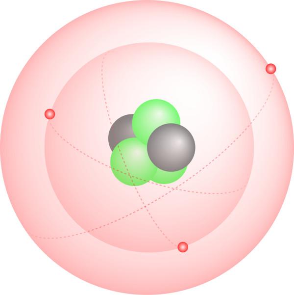 O modelo atômico de Bohr considerou os níveis de energia em que os átomos orbitavam ao redor do núcleo