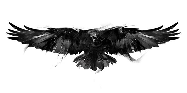 Na mitologia nórdica, os corvos tinham a função de informar Odin sobre o que se passava na terra dos homens.