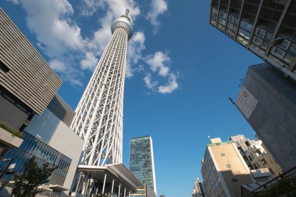 Tóquio Skytree é a construção mais alta do Japão.*