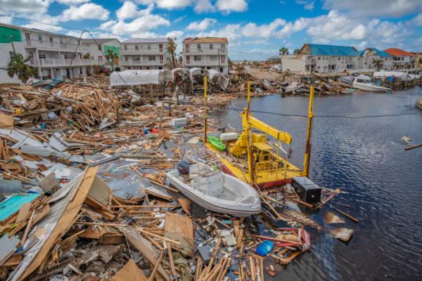 O furacão Michael passou por diversos países da América Central, deixando rastros de destruição.*