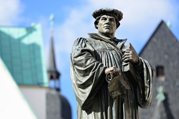 Lutero, o reformador da Igreja.