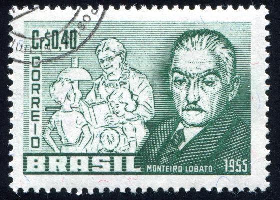 O trabalho de Monteiro Lobato como escritor foi responsável por popularizar a lenda do saci no Brasil. [1]