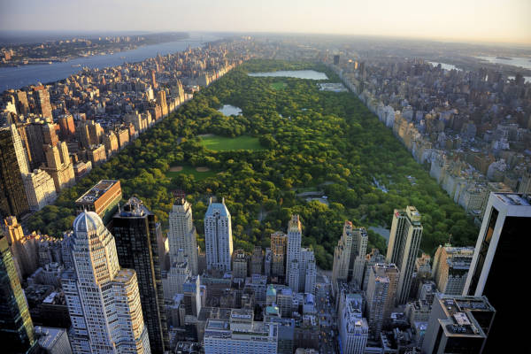 Um dos principais pontos turísticos de Nova Iorque é o Central Park.