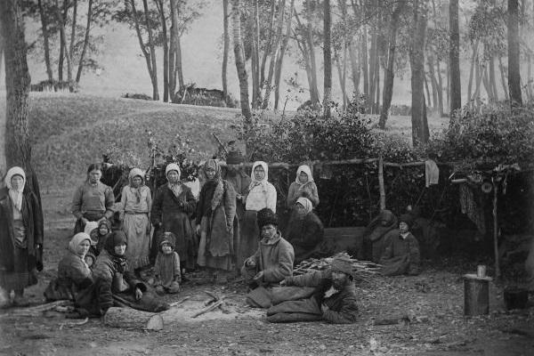 A Guerra Civil Russa foi responsável pela morte de milhões de camponeses, vítimas da falta de alimentos.[1]