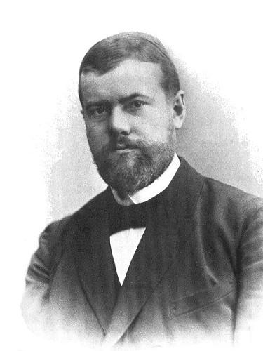 Max Weber era membro da tríade da sociologia clássica.