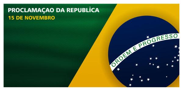 Atualmente, o 15 de novembro é considerado feriado nacional por força da legislação brasileira.