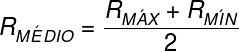 O raio médio é calculado pela média entre os raios do periélio e afélio.