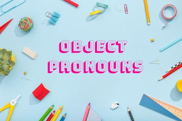 Na língua inglesa, os pronomes pessoais podem ser tanto objetos quanto sujeitos.