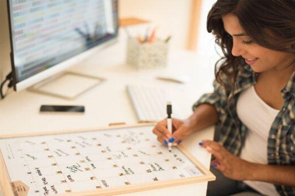 Montar um cronograma de estudos é uma das etapas para estudar em casa