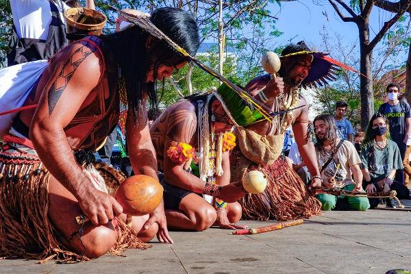 Indígenas são contra o Marco Temporal
