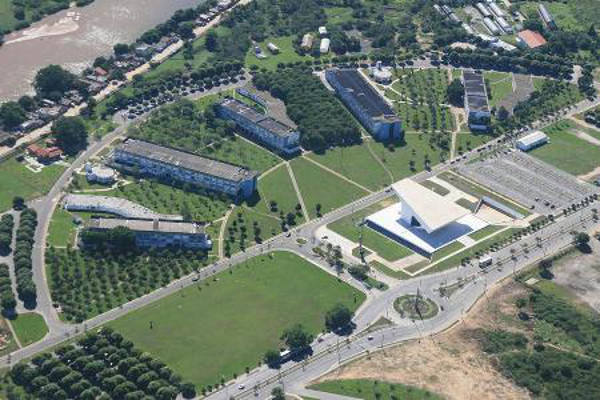UENF é uma das universidades que participam do Vestibular do Cederj - Crédito da Foto: Paulo Damasceno/UENF